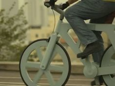 The Cardboard Bike - completely awesome! I might buy one of these!