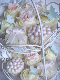 Pretty Pastel Cupcakes by smithy.claire, via Flickr