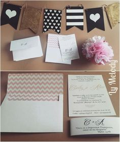 Pink wedding invitation  Invitații de nunta roz @invitatiimelody #pink#weddinginvitation#simple
