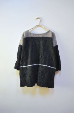 Horn pullover wool - Amy Revier