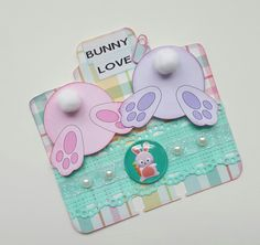 Bunny butts Rolodex card by Lolly #rolodex #memorydex