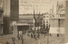 Once upon a time... St Mark's Sq. 1917
