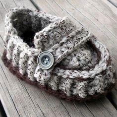 Crochet Pattern for Loafer.