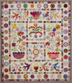 applique quilts | Home is shared with my fabulous husband and our two furry beasts. Our ...