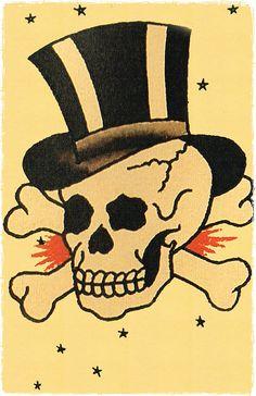 Sailor Jerry Skull
