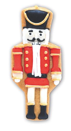 Your favourite Christmas ballet character, in icing! #Nutcracker