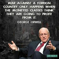 Remember this every time a politician says.. War is the only option.