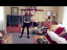 Intermediate Hoop Tutorial : Behind The Back Wrap with Handspin - YouTube
