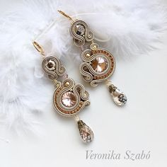 Handmade Jewelry, Drop Earrings, Unique, Fashion, Moda, Drop Earring, Fasion, Diy Jewelry, Hand Print Ornament