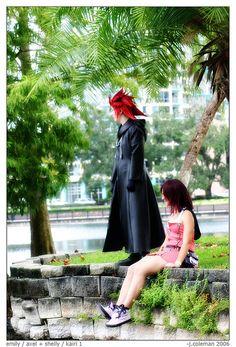axel & kairi - kingdom hearts cosplay by phantom42, via Flickr