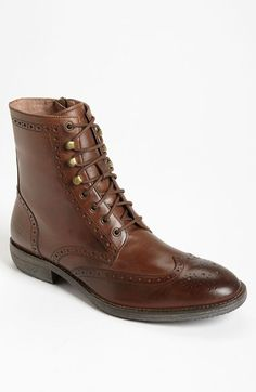 Andrew Marc 'Hillcrest' Wingtip Boot (Men) available at #Nordstrom