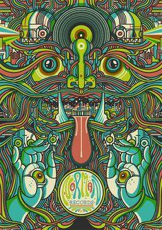 Resultado de imagem para psychedelic draws