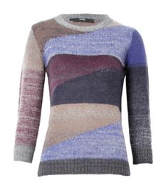 A great mohair knit by Cut 25 to wear for this season just add a fur vest!    http://www.oxygenboutique.com/p-1290-colourblock-knit-jumper.aspx