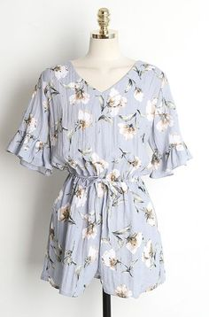 Flower Jumpsuits OPS-S