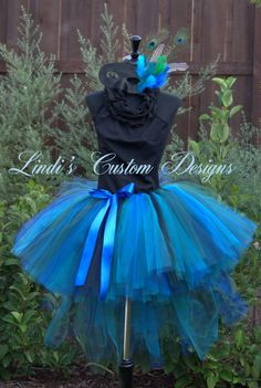 Teen Adult Masquerade Peacock Bustle Style by sweethearttutus, $188.00