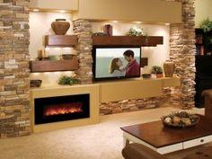 built-in barnwood entertainment center - Google Search