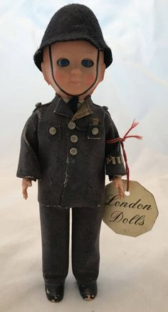 Mid Century London Dolls Male Uniformed Doll  by VirgoAgogo