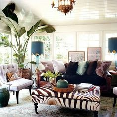 Great lamps, great chair...love it! Great mix -spacesOASIS