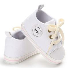 """Universe of goods - Buy """"Newborn Baby Shoes 2018 Infant first walkers Tollder Canvas Shoes Lace-up Baby Girls Sneaker Prewalker for only USD. Baby Sneakers, Girls Sneakers, Crib Shoes, Baby Shoes, Newborn Shoes, Baby Newborn, Baby Canvas, Walker Shoes, First Walkers"""
