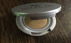 """There are tons of golds to go with, but right now we're really into the gold shade offered by Votre Vu cosmetics. It's called Pinot Gris, and it's about as gold as it gets. We love to sweep gold from lid to brow..."" -- Cambio: ""Holiday Eyes: Don't Avoid Glitter, Go for the Gold"""