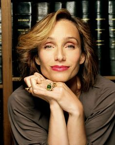 Kristin Scott Thomas, as Sybilla, the grand dame- Dowager Baroness Culter