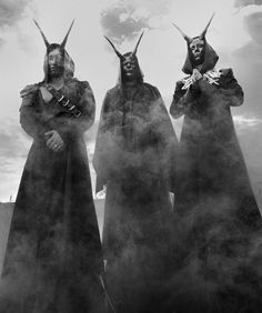 Nergal, Orion and Inferno of Behemoth