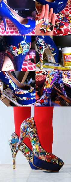 nuevos zapatos ? :) #comic #retro #vogue #style #look