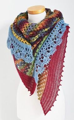 Free and Easy and Cool Crochet Scarf Pattern Ideas for Winter Part 12 ; knitting scarves for beginners; Poncho Au Crochet, Crochet Shawls And Wraps, Knit Or Crochet, Knitted Shawls, Crochet Scarves, Crochet Clothes, Free Crochet, Free Knitting, Knitting Scarves