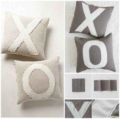 XO Pillows DIY
