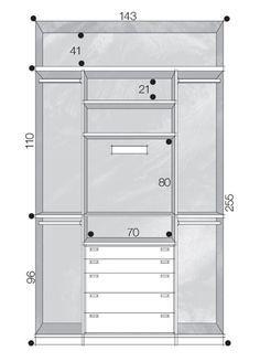 Closets e guarda-roupas bem organizados Casa