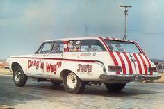 1964 Plymouth Fury Wagon Rear Drivers Side