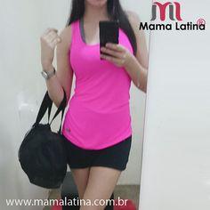 Boa tarde meninas!  Nossa cliente aproveitou o feriado para se exercitar com este #look #divo #mamalatina disponível no site da bio @mamalatinabrasil  #regatasfitness drypina R$39,00 e Shorts-saia R$69,00 apenas  Frete grátis em compras acima de 99,00 6x sem juros no cartão  5% de desconto no boleto.  #fitnessfreak #fitspiration #fitness #fitnessbrasil #modafitness #modaesportiva #modafeminina #girls #gym #gymgirl #fitness #saúde #saúdavel #saudavelparasempre #projeto #sixpack #active…