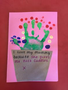 Mother's Day cards - Reception
