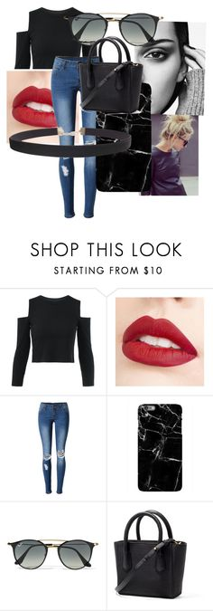 """""""Jenner style"""" by soph156 ❤ liked on Polyvore featuring Jouer, WithChic, Harper & Blake, Ray-Ban and Humble Chic"""