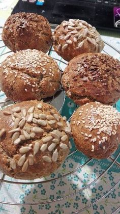 Healthy Snacks, Healthy Recipes, Muffin, Paleo, Low Carb, Bread, Cooking, Breakfast, Food