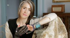 "See more architecture and design movies on dezeen.com/movies  In this exclusive video interview, musician Imogen Heap demonstrates the electronic gloves that allow people to interact with their computer remotely via hand gestures.  The interview was filmed at Heap's home studio outside London, shortly before she launched her Kickstarter campaign to produce a limited production run of the open-source Mi.Mu gloves.  ""These beautiful gloves help me gesturally interact with my ..."
