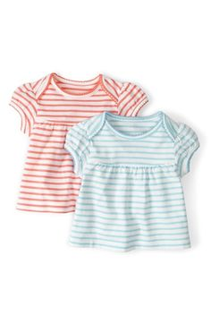 Mini Boden 'Pretty' Tee (2-Pack) (Baby Girls) available at #Nordstrom