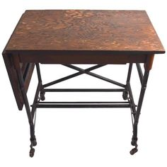 Turn of the Century Industrial Work Table | From a unique collection of antique…