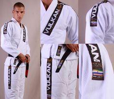 Kimono Vulkan Pro Light Branco/White - Adulto