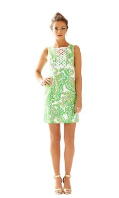 GOING TO BUY!!!! Rosie Square Neck Shift Dress - Lilly Pulitzer