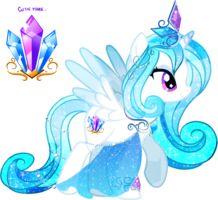 Princess Crystal loves jewlery