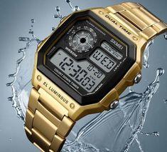 Men Watches Digital Clock Wrist Water&Shock Resistance