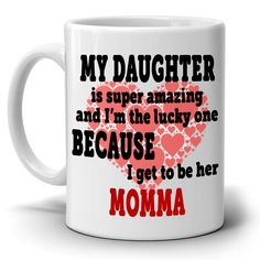 Makes a wonderful holiday gift for Mothers Day and mom's birthday. High quality ceramic mug. Microwave and dishwasher Safe. Will not fade! Custom made in 2 business days! Printed on Both Sides - in the USA. Birthday Presents For Mom, Mother Birthday Gifts, Mom Birthday, Mother Day Gifts, Gifts In A Mug, Gifts For Mom, Weird Gifts, Mug Printing, Holiday Gifts