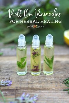 Roll-on remedies are a quick and natural first line of defense against common ailments like headaches, disrupted sleep, and cold and flu viruses. Here are three recipes to make roll-on remedies as a quick and natural option. Insomnia Remedies, Natural Headache Remedies, Flu Remedies, Natural Home Remedies, Natural Healing, Herbal Remedies, Health Remedies, Remedies For Headaches, Allergy Remedies