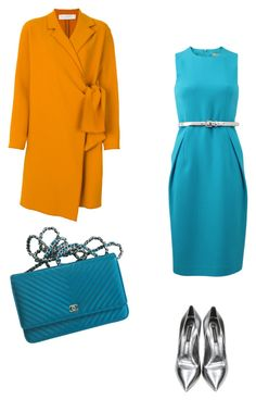 """Complimentary"" by avk-1993 on Polyvore featuring Mode, Michael Kors, Victoria, Victoria Beckham, Casadei und Chanel"
