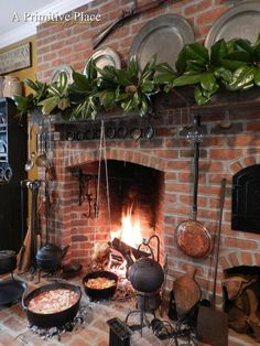 18th century hearth