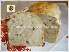 Pane farcito con olive verdi