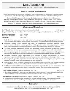 sample administrator resume
