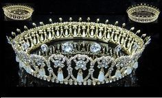 Specialise in royalty crown and tiara replicas. Girls of Great Britain & Ireland Tiara, George IV State Diadem, Fringe Tiara, Cambridge Lover's Knot Tiara Royal Crowns, Royal Tiaras, Tiaras And Crowns, Bridal Crown, Bridal Tiara, Lovers Knot Tiara, Diamond Bows, Diamond Tiara, Diamond Jewelry