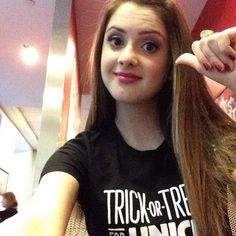 """Laura Marano Getting Ready For An Interview With """"Fox"""